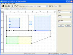Screenshot of editing window.